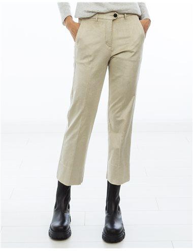 Pantalón velvet skikky BEIG
