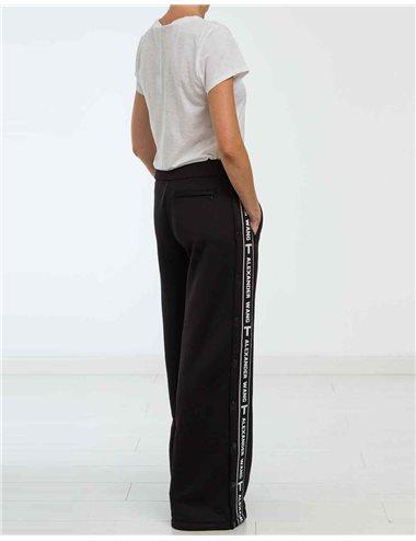 Pantalón botones logo franja