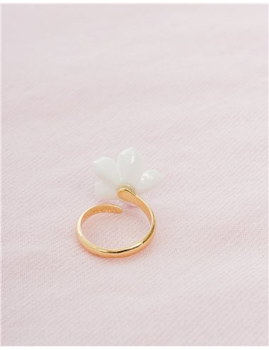 Anillo mini flor