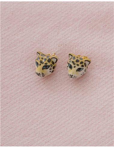 Pendientes leopardo