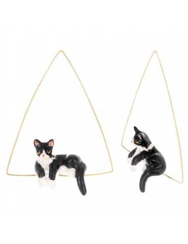 Pendiente triángulo gato