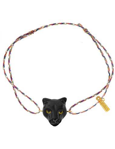 Panther rope bracelet