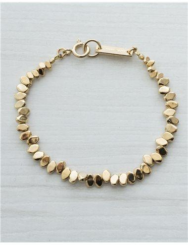 c/ Pulsera piezas - oro