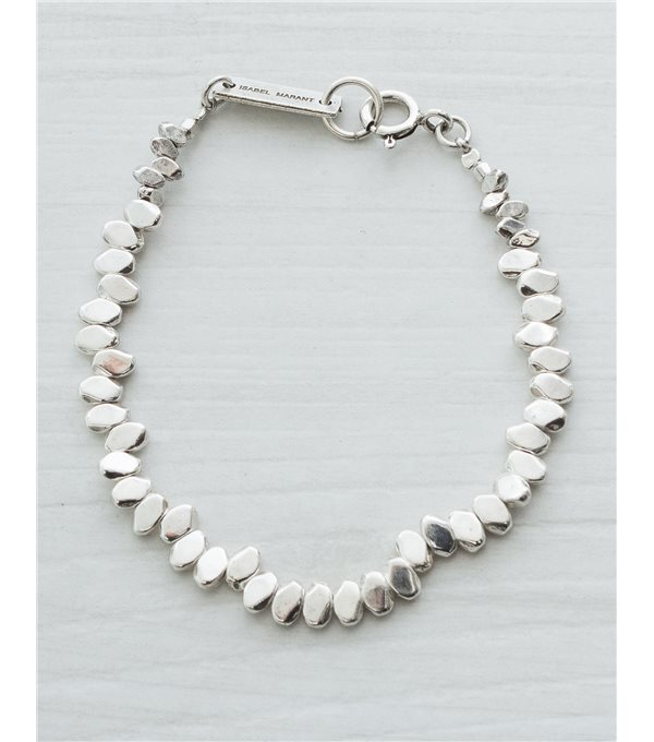 c/ Pulsera piezas - plata
