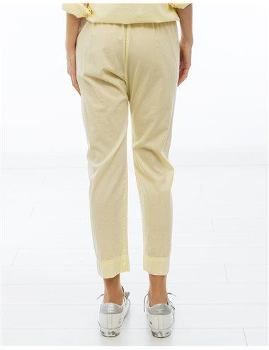 DRAPPER-Pantalon popelín fino
