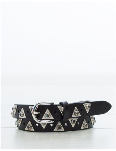 ZATRI - Cinturón piezas triángulo