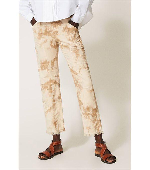 Pantalon tie dye