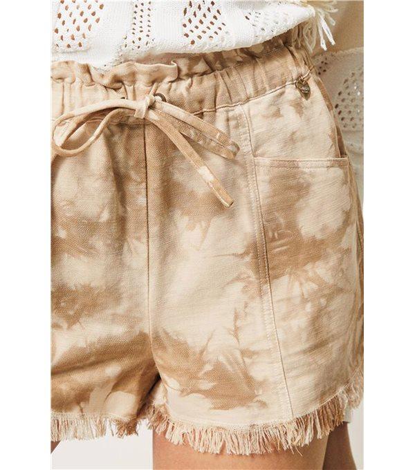 C/ Short tie dye - beig