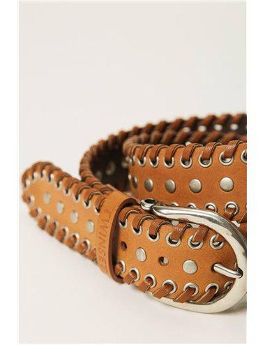 C/ Cinturon tachuelas - cuero