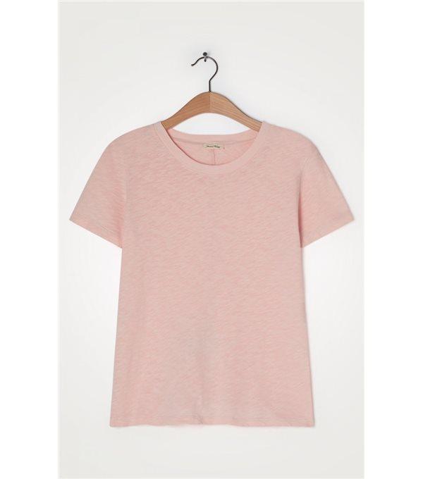 C/ T-shirt mc cr algodon lavado