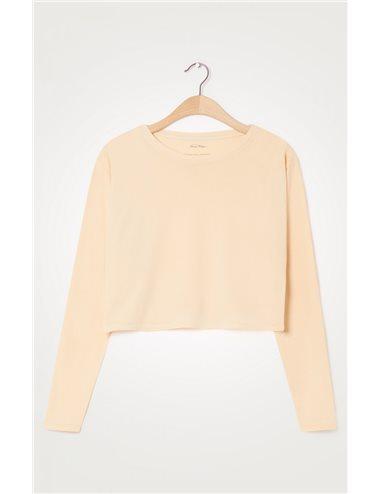 C/T-shirt ml cr cortita y anchita