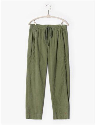 DRAPER- Pantalon popelín fino