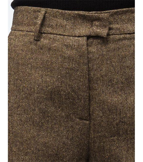 Pantalón cheviot-camel