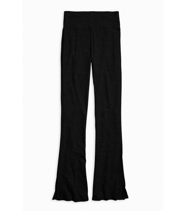 Knitted pants - black