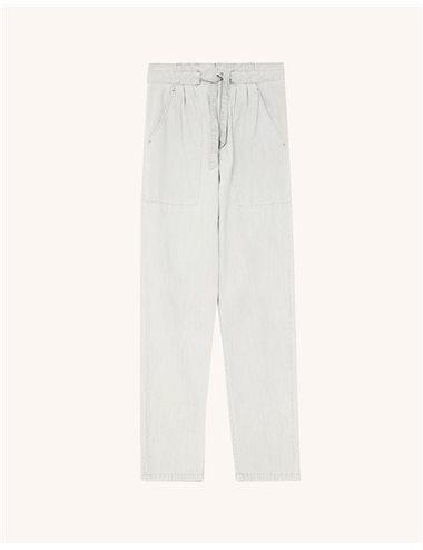 c/ MUARDO - Pantalón denim fino - gris c