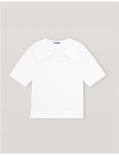 C/ T-shirt lazo -blanco