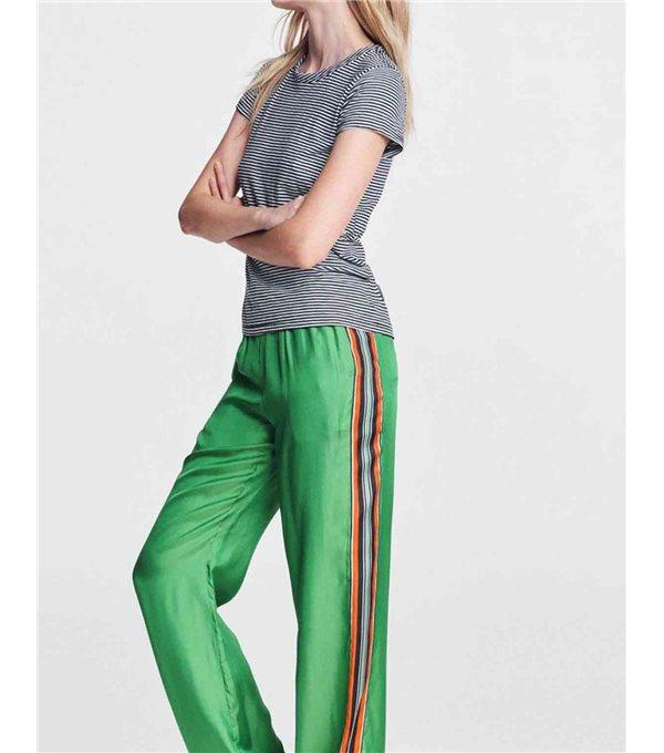 T-shirt mc rayas bicolor