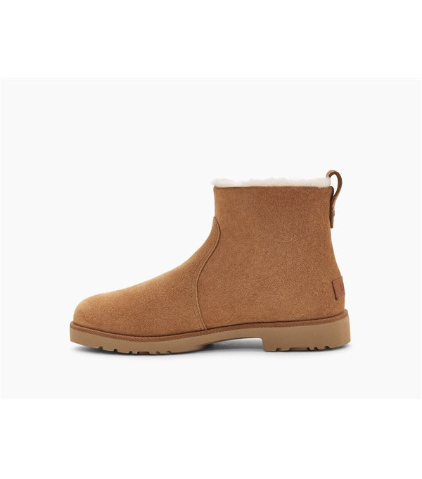 Romely zip boots - chestnut