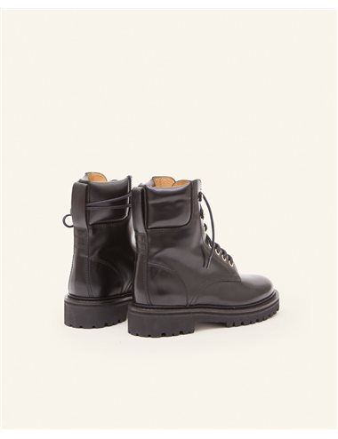 CAMPA - Lace up boots - black