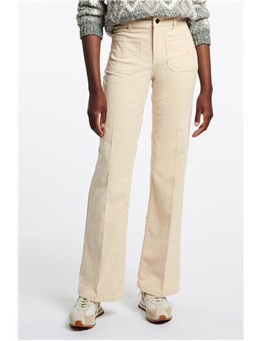 DOMPAY - Micro corduroy trousers