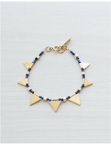 Pulsera piezas triángulos
